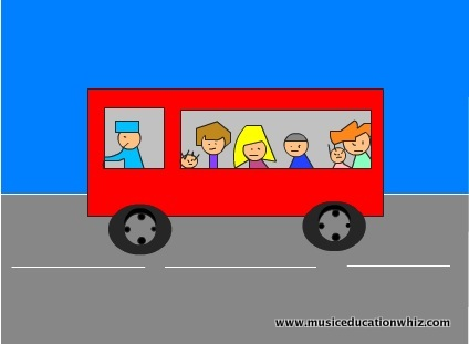 Image from Wheels On The Bus animation